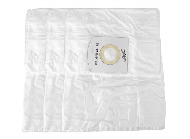HEPA Microfilter Bag for Central Vacuum Models CONDOLUX, JV600C, RHINOCW and RUV540 - Pack of 3 Bags