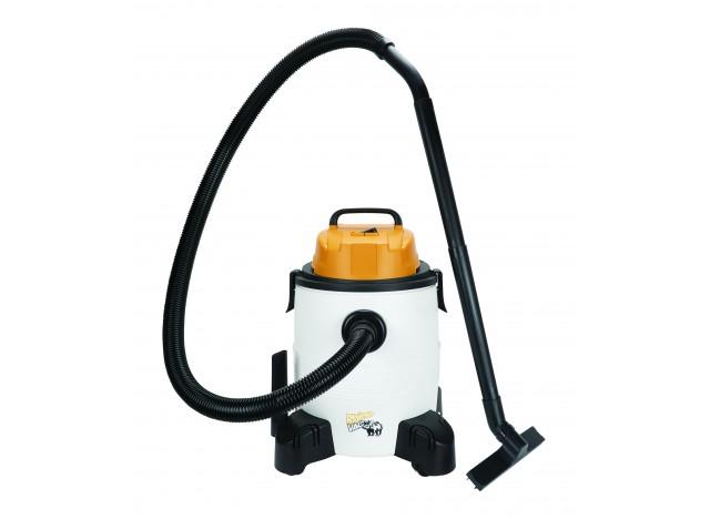 Aspirateur d'atelier portatif sec et humide RhinoVac, 35 L (8 gal). Sur roues pivotantes avec accessoires et fonction de souffle