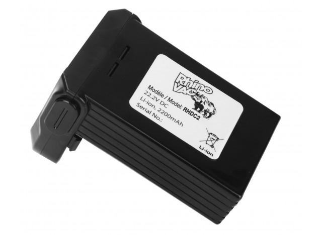 Batterie de remplacement pour aspirateur-balai sans fil  RhinoVac RHDC2 - Lithium - 22,2 V