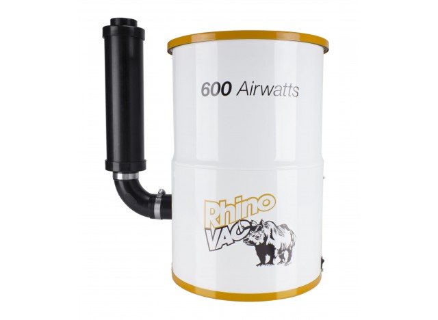 Aspirateur central compact de RhinoVac - 600 watts-air